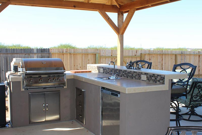 Quiet Corner Outdoor Kitchens Design Ideas And Tips