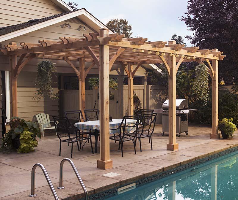 Quiet Corner:Outdoor Pergolas Home Design Ideas - Quiet Corner on Covered Pergola Ideas  id=94210