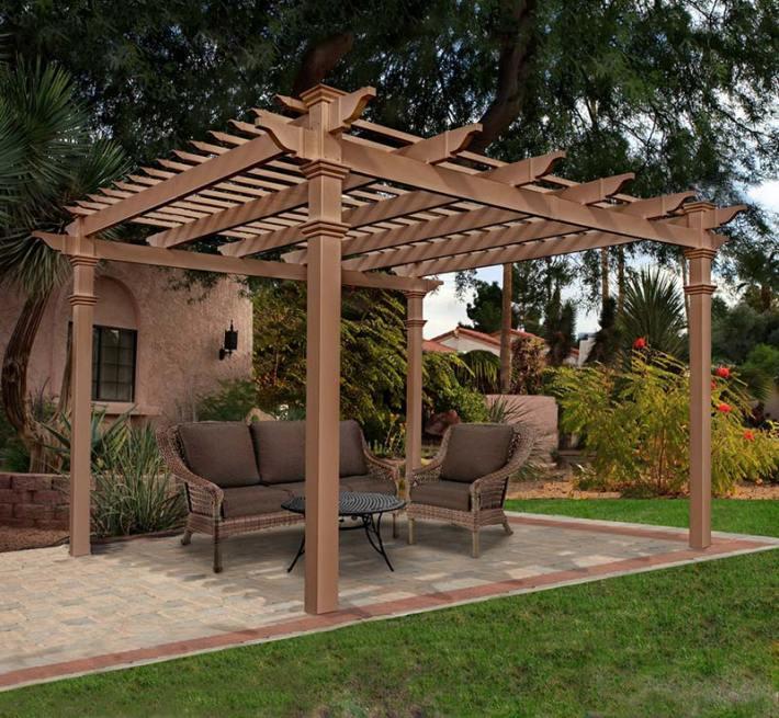 Pergola Designs Corner: Quiet Corner:Outdoor Pergolas Home Design Ideas