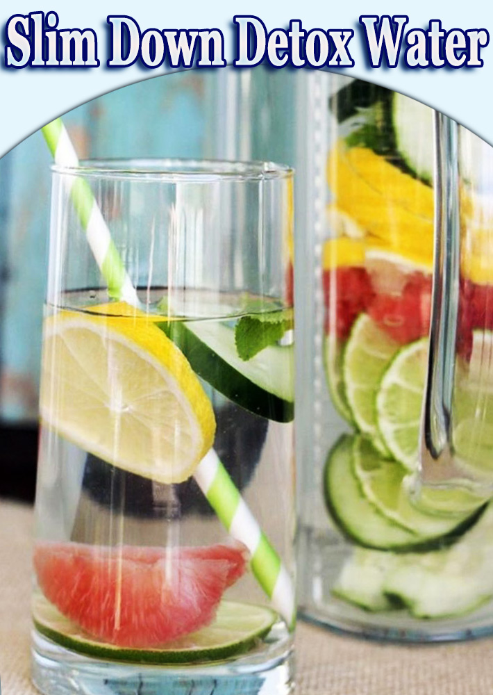 Slim Down Detox Water
