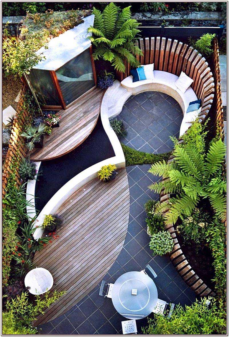 small backyard ideas enlarging your limited space - Small Backyard Landscape