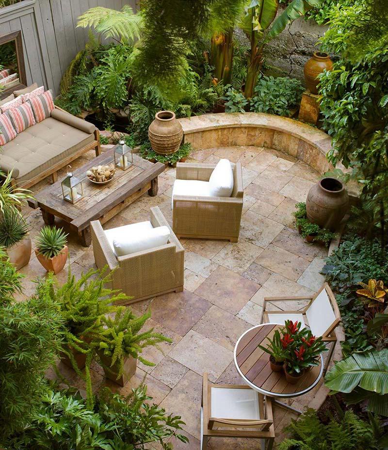 Small Backyard Relaxing Design - Quiet Corner on Small Backyard Ideas id=25679