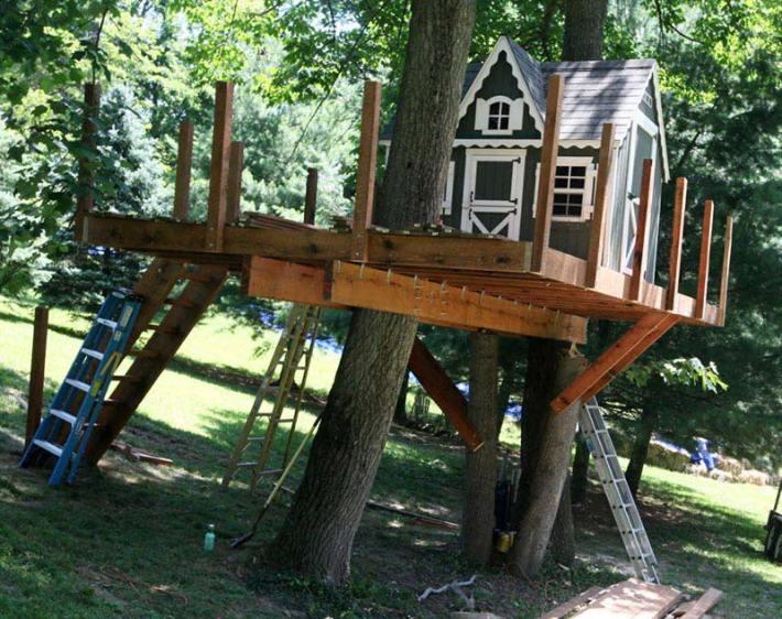 Wonderful Tree Houses Ideas