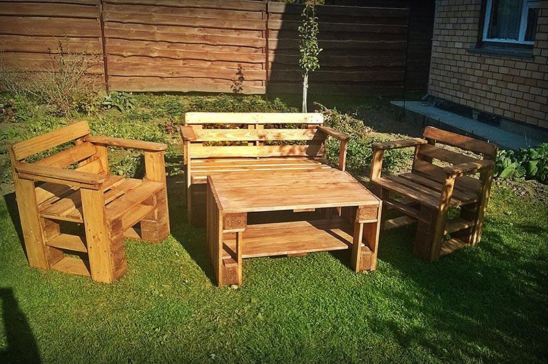 Wonderful Wood Pallet Outdoor Furniture Ideas Quiet Corner
