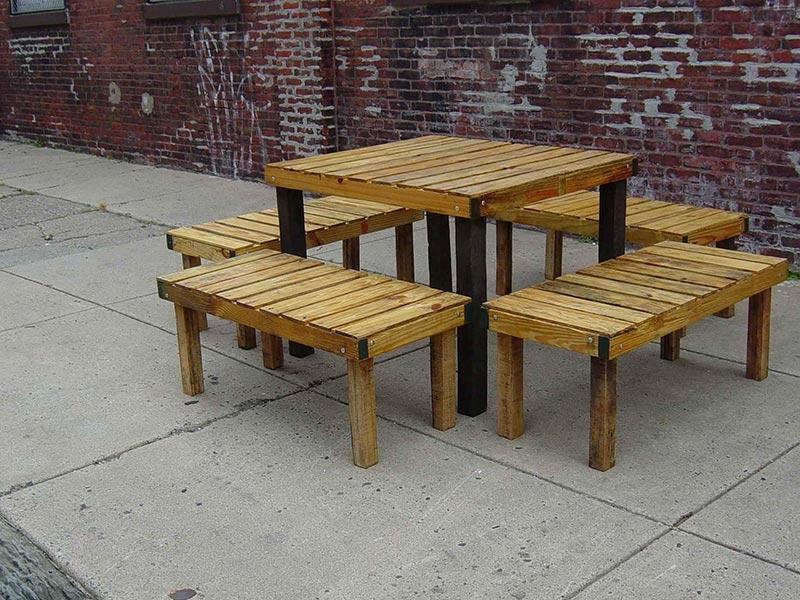 Quiet Corner Wonderful Wood Pallet Outdoor Furniture Ideas