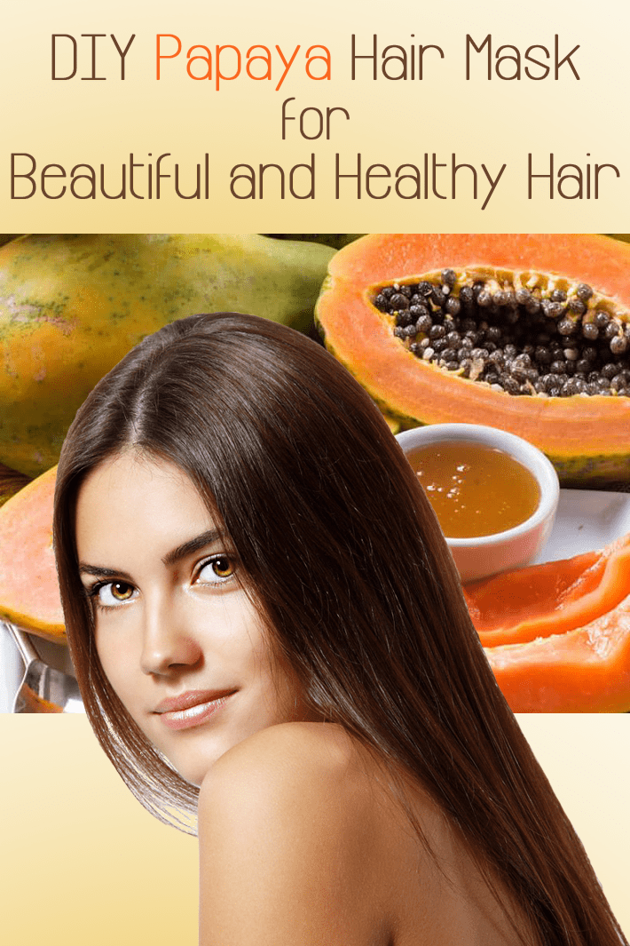 DIY Papaya Hair Mask for Beautiful and Healthy Hair - Quiet Corner