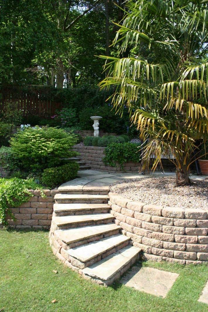 Quiet Corner:Sloping Garden Design Ideas - Quiet Corner on Sloped Backyard Design id=99675