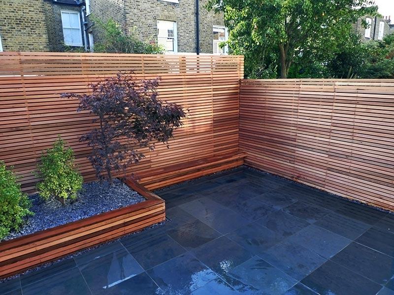 Sloping Garden Design Ideas - Quiet Corner on Garden Ideas For Sloping Gardens id=52811