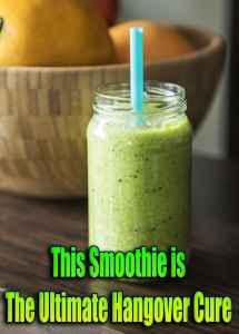 This Smoothie is The Ultimate Hangover Cure