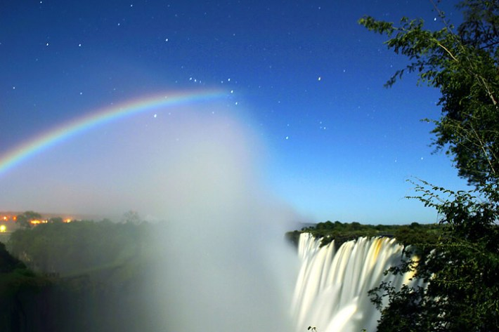 Somewhere Over The…. Hmm… Moonbow?