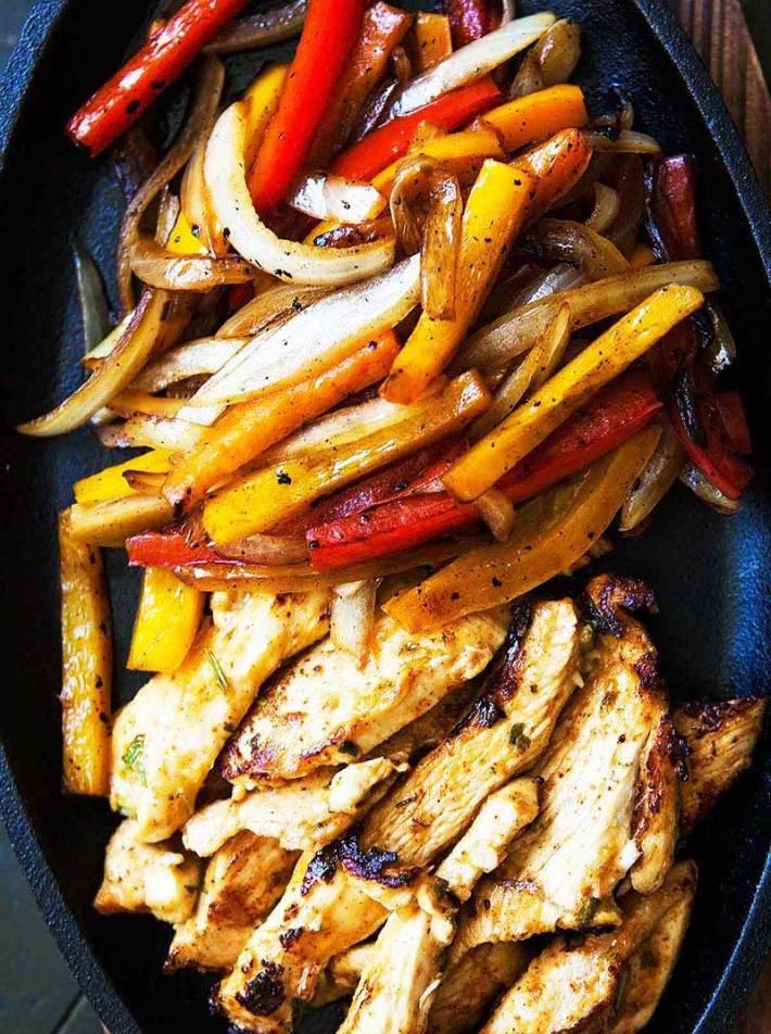 Quiet Corner:Basic Chicken Fajitas Recipe - Quiet Corner