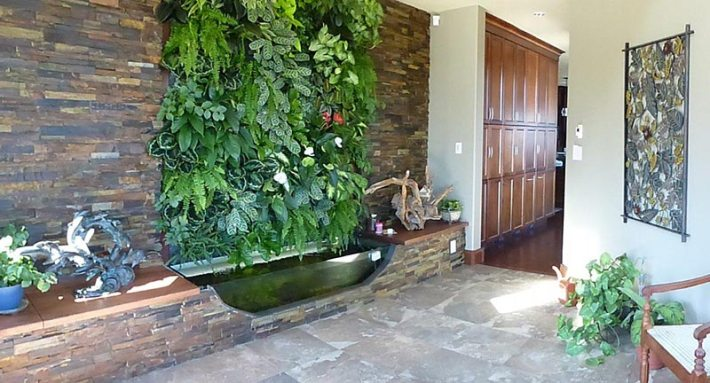 Living Wall Vertical Garden Benefits