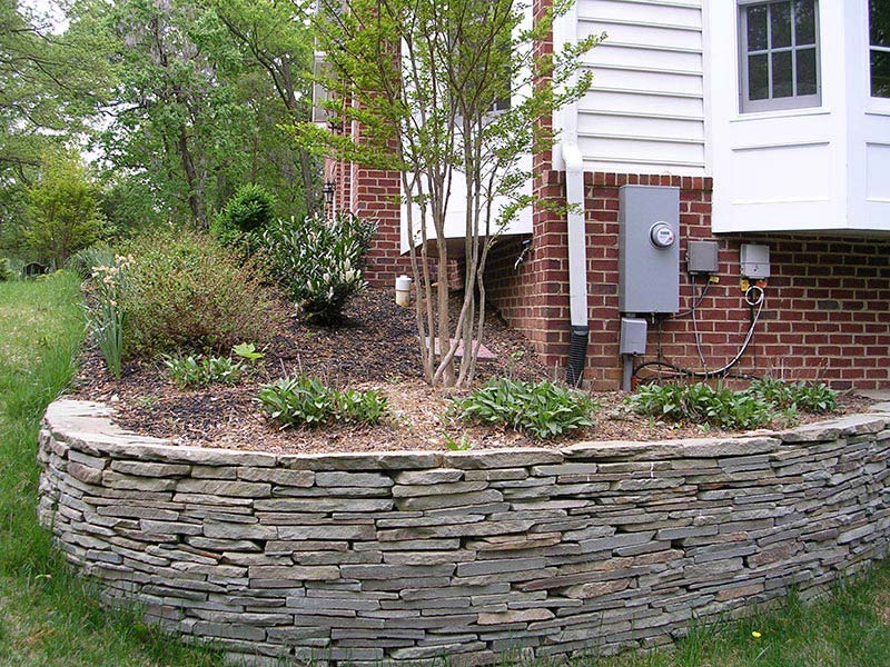 Quiet corner retaining wall design ideas quiet corner for Garden wall designs