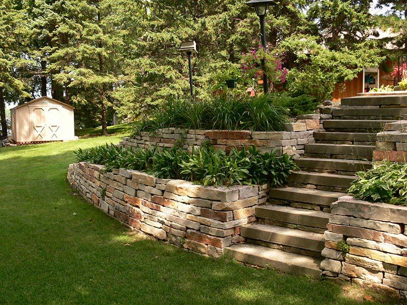 Quiet Corner:Retaining Wall Design Ideas - Quiet Corner