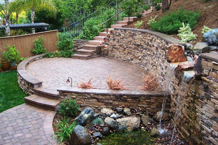 Quiet Corner:Retaining Wall Design Ideas - Quiet Corner on Wall Ideas For Yard id=74906
