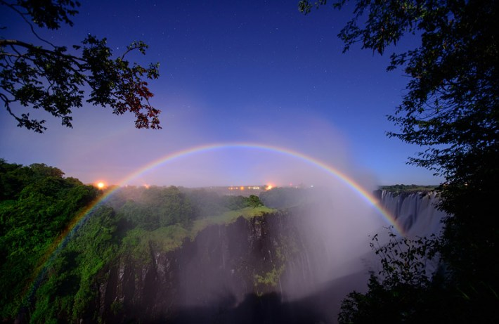 Somewhere Over The.... Hmm... Moonbow?