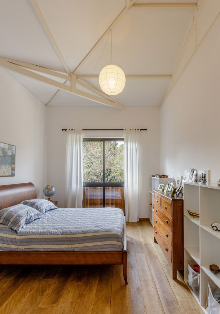Bedroom with Sloped Ceiling
