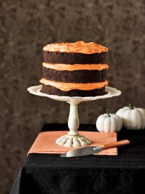 Chocolate Pumpkin Cake and Cupcakes Recipe