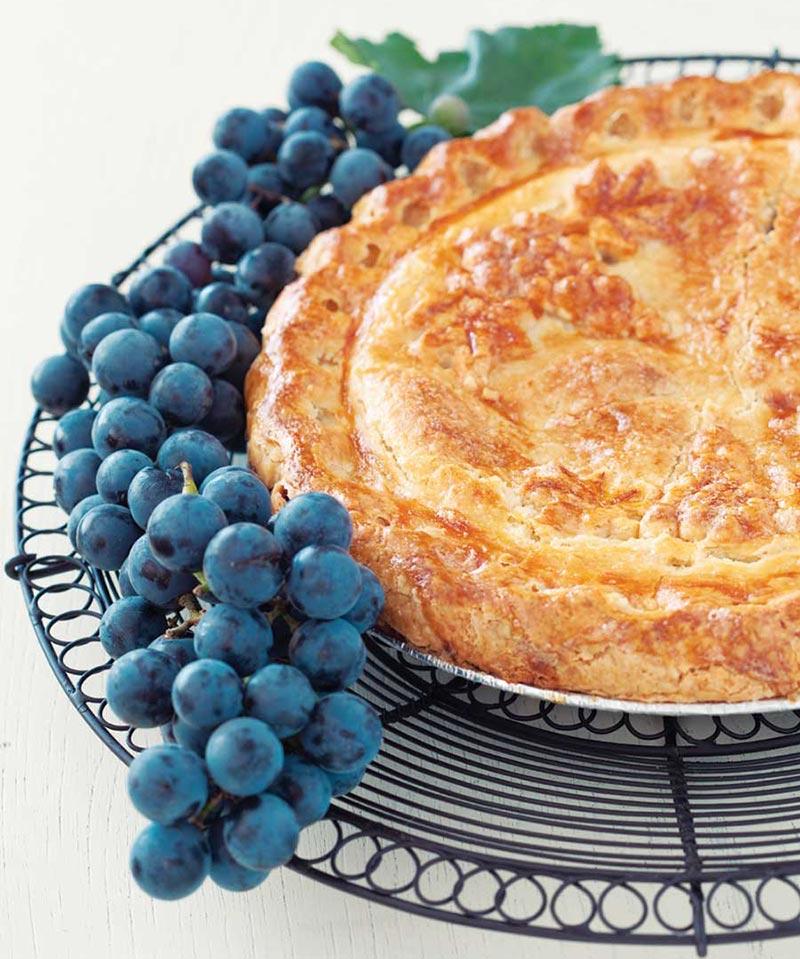 Quiet Corner:Concord Grape Pie Recipe - Quiet Corner
