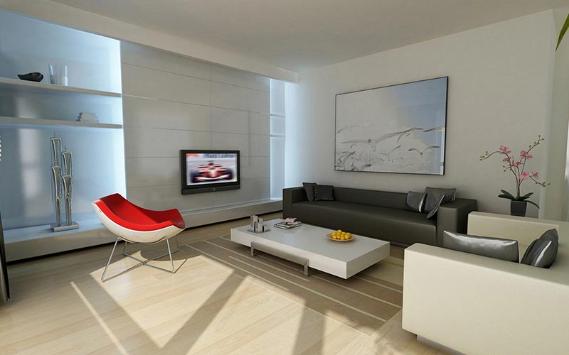 ... Minimalist Living Room Design ...