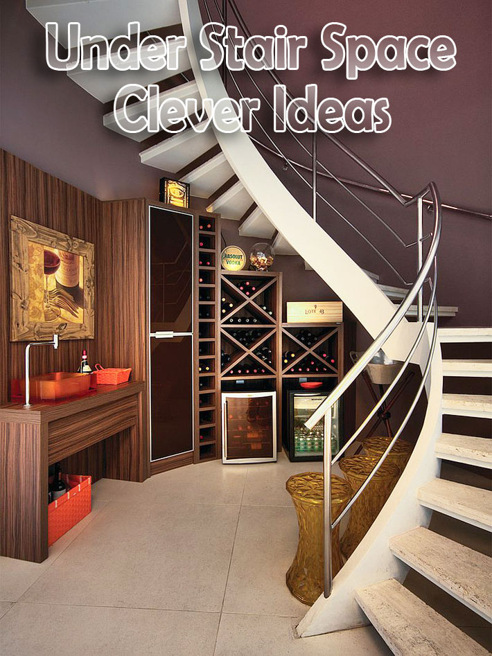 Quiet Corner:Under Stair Space Clever Ideas - Quiet Corner
