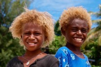Melanesians – The Blonde Afros from Solomon Islands