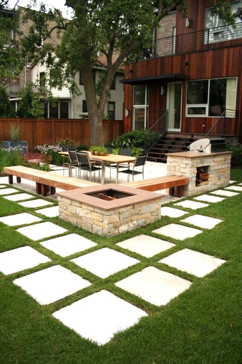 Amazing Backyard Landscaping Ideas - Quiet Corner on Yard Paver Ideas  id=98700