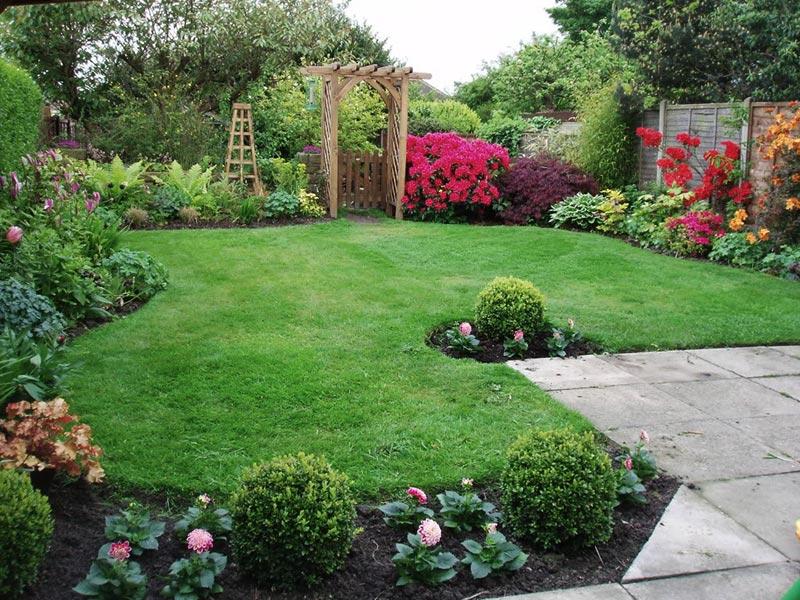 Amazing Backyard Landscaping Ideas - Quiet Corner on Back Garden Ideas id=68429