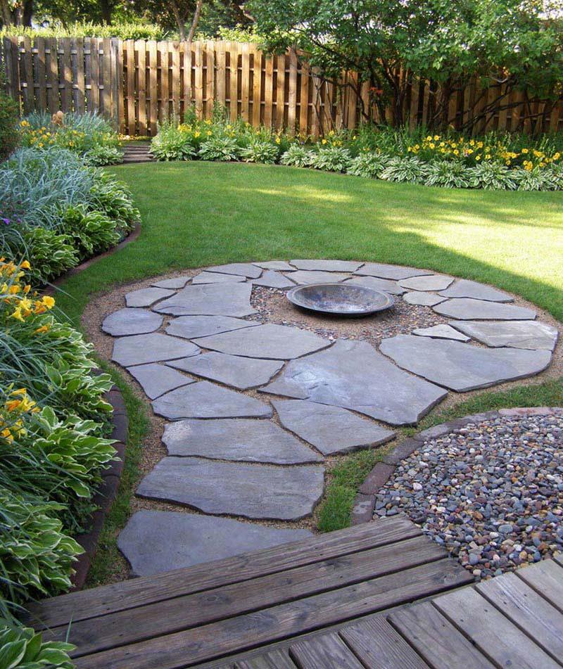 Backyard Corner Ideas: Quiet Corner:Amazing Backyard Landscaping Ideas