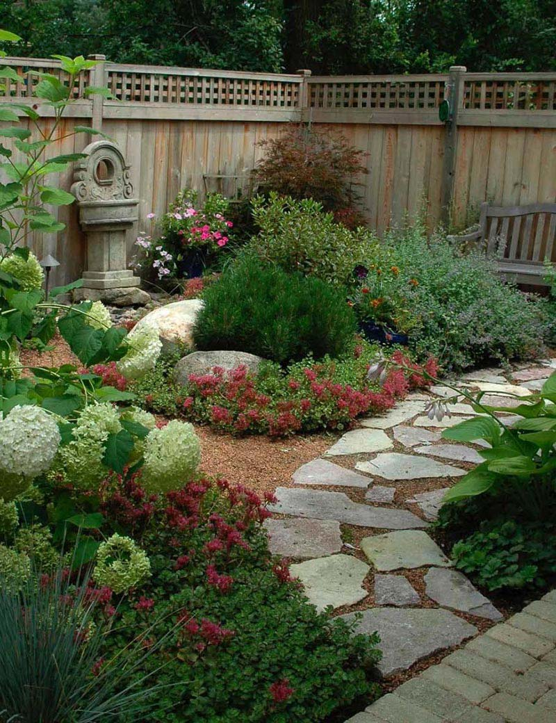 Backyard Edging Ideas