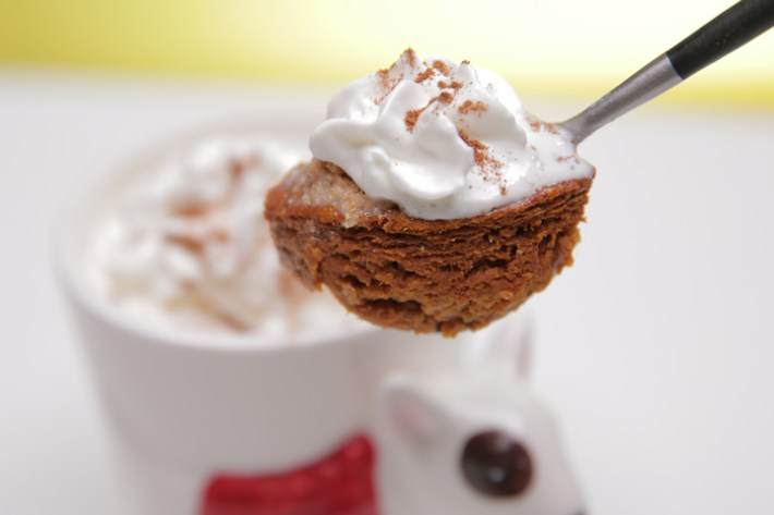Healthy Pumpkin Pie in a Mug Recipe