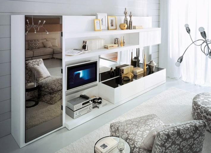 Quiet Corner Italian Charisma Living Room Design Ideas