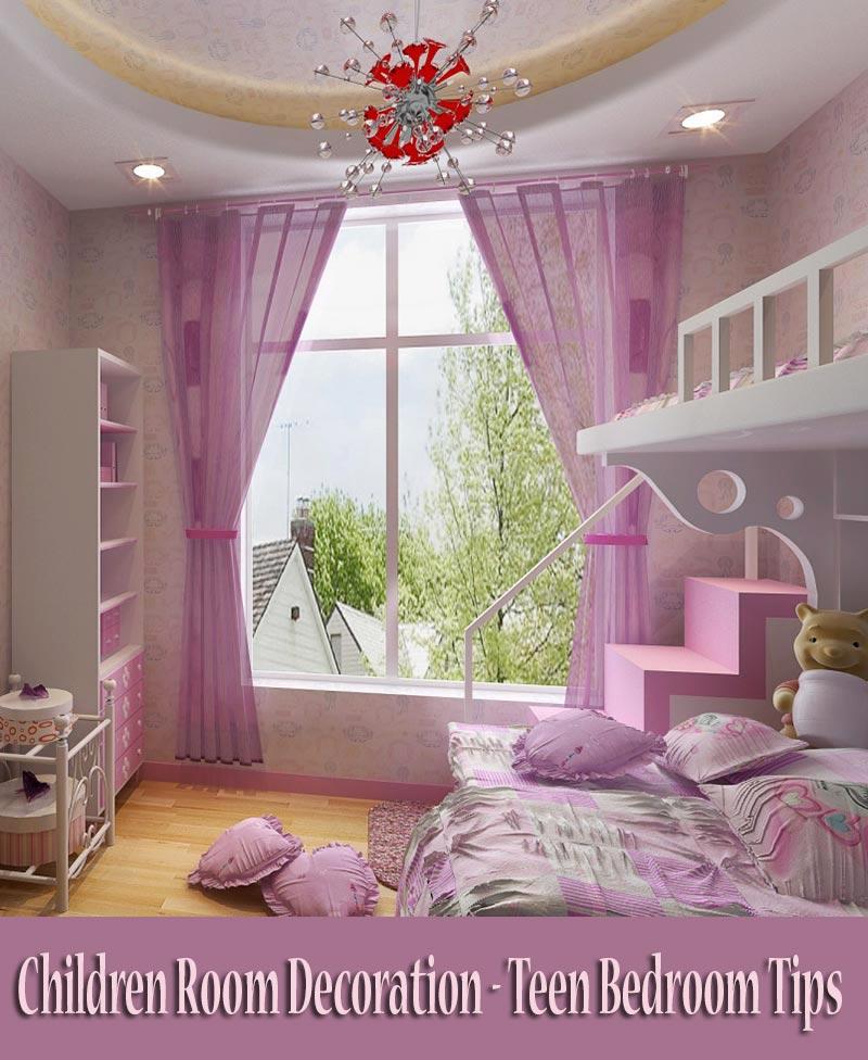 Children Room Decoration U2013 Teen Bedroom Tips