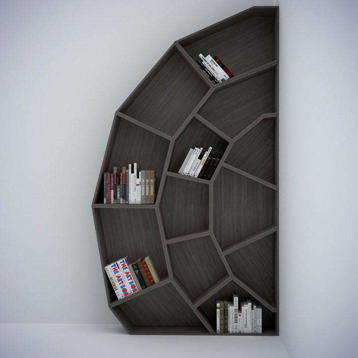 interior design cool and creative bookshelves - Weird Bookshelves