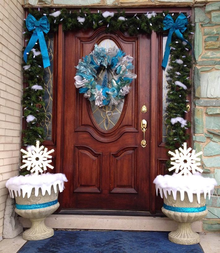 Christmas Front Door Decorations