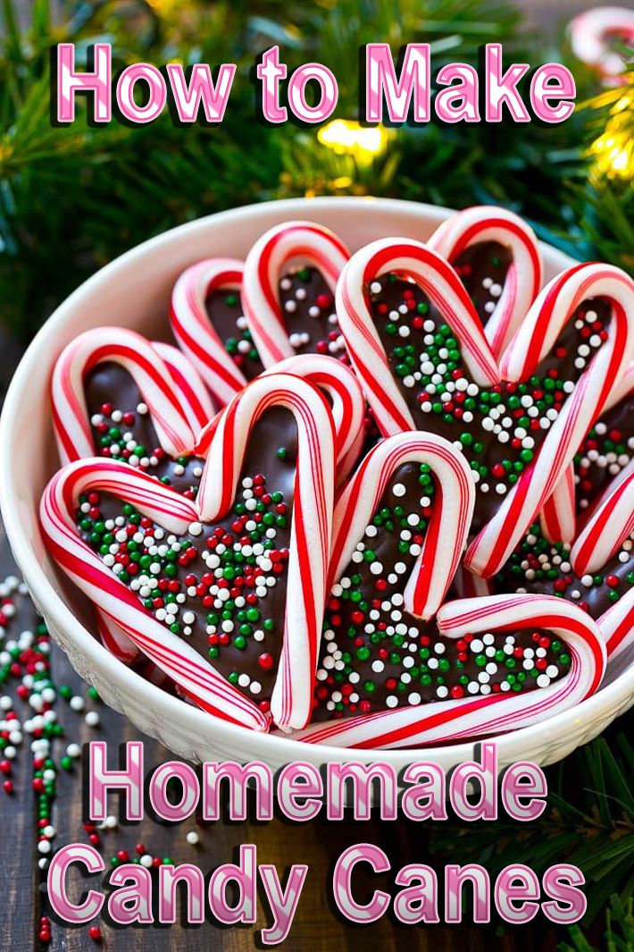 How to Make Homemade Candy Canes - Quiet Corner
