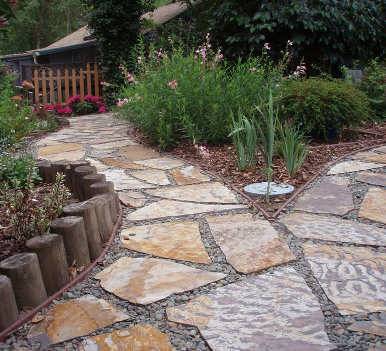Garden Walkways Tips and Ideas - Quiet Corner on Patio And Path Ideas  id=64900