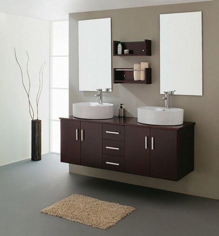 Quiet Corner:Great Ideas for Bathroom Double Sinks - Quiet ... on Great Bathroom Ideas  id=18314