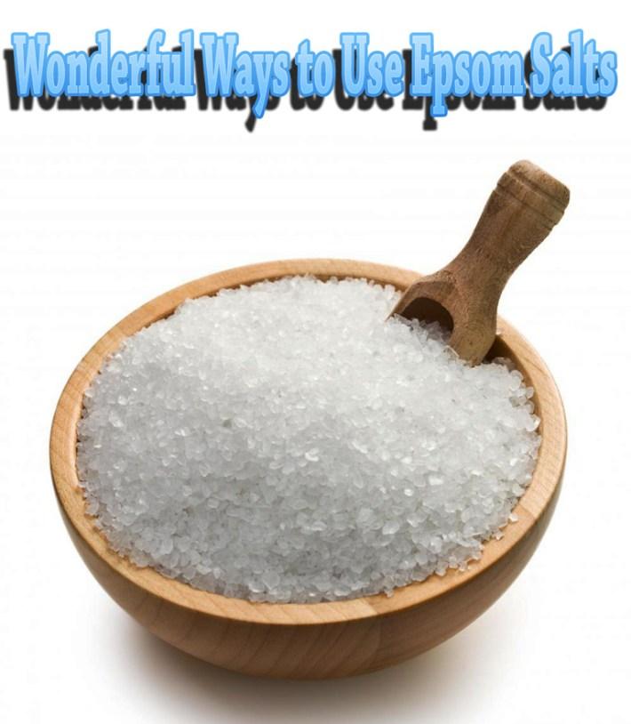 Wonderful Ways to Use Epsom Salts