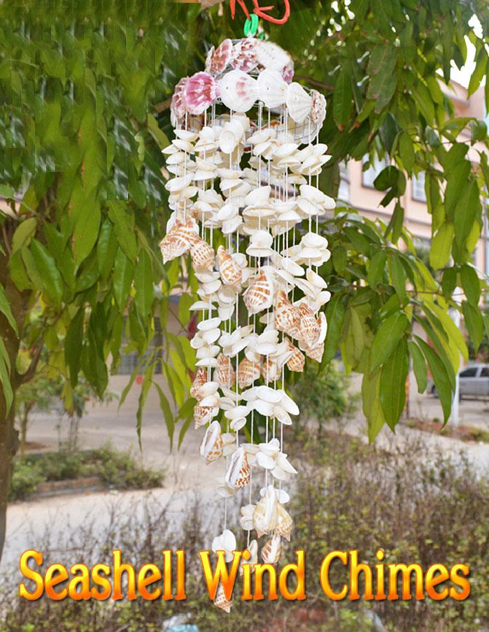 Great DIY Seashell Wind Chimes Ideas