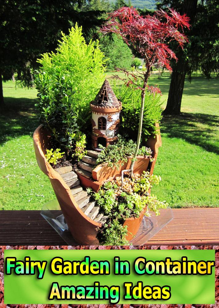 Fairy Garden In Container U2013 Amazing Ideas