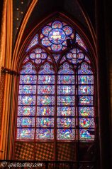 Broken by fanciful stained glass windows