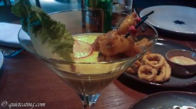 Keralan Shrimp Cocktail with Coconut