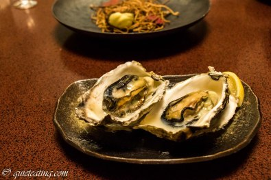 A particular local speciality, Hiroshima oysters