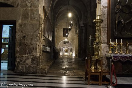 The Church of Holy Sepulchre, where Jesus was crucified