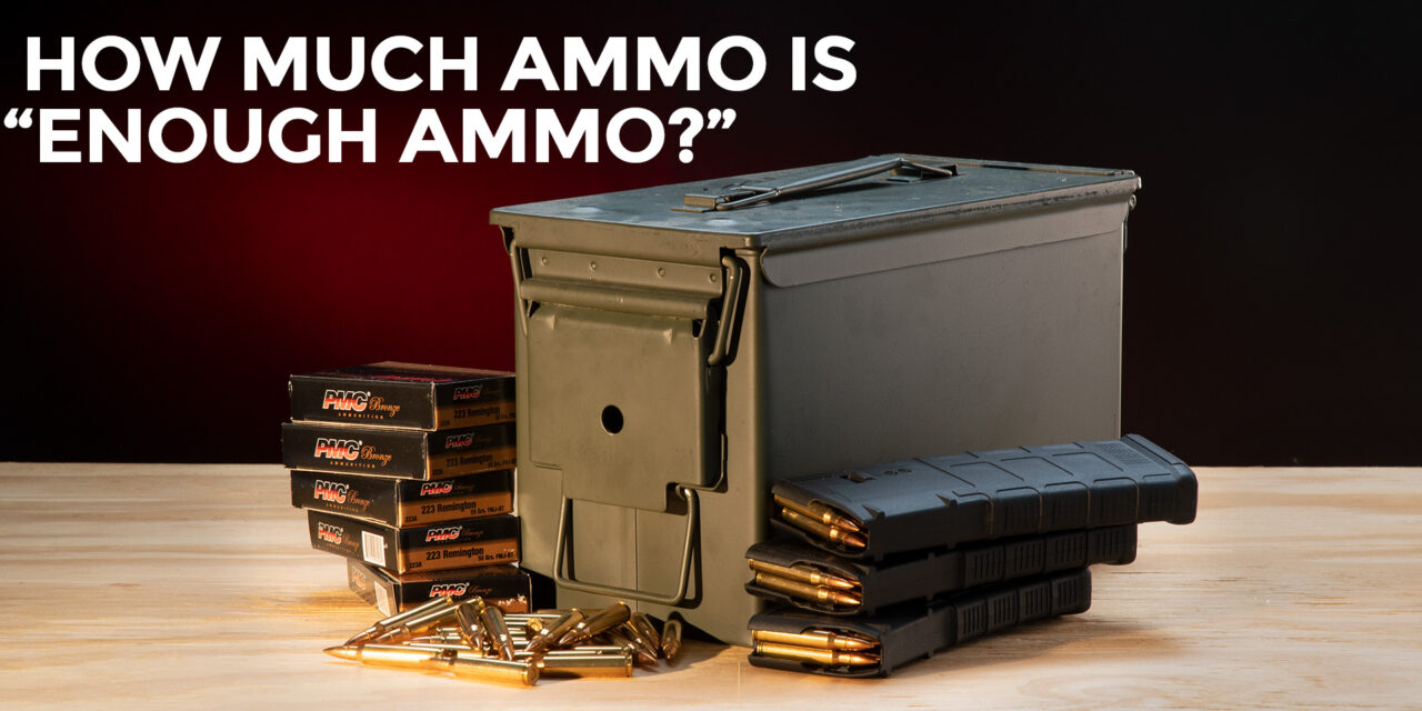 How Much Ammo For When SHTF