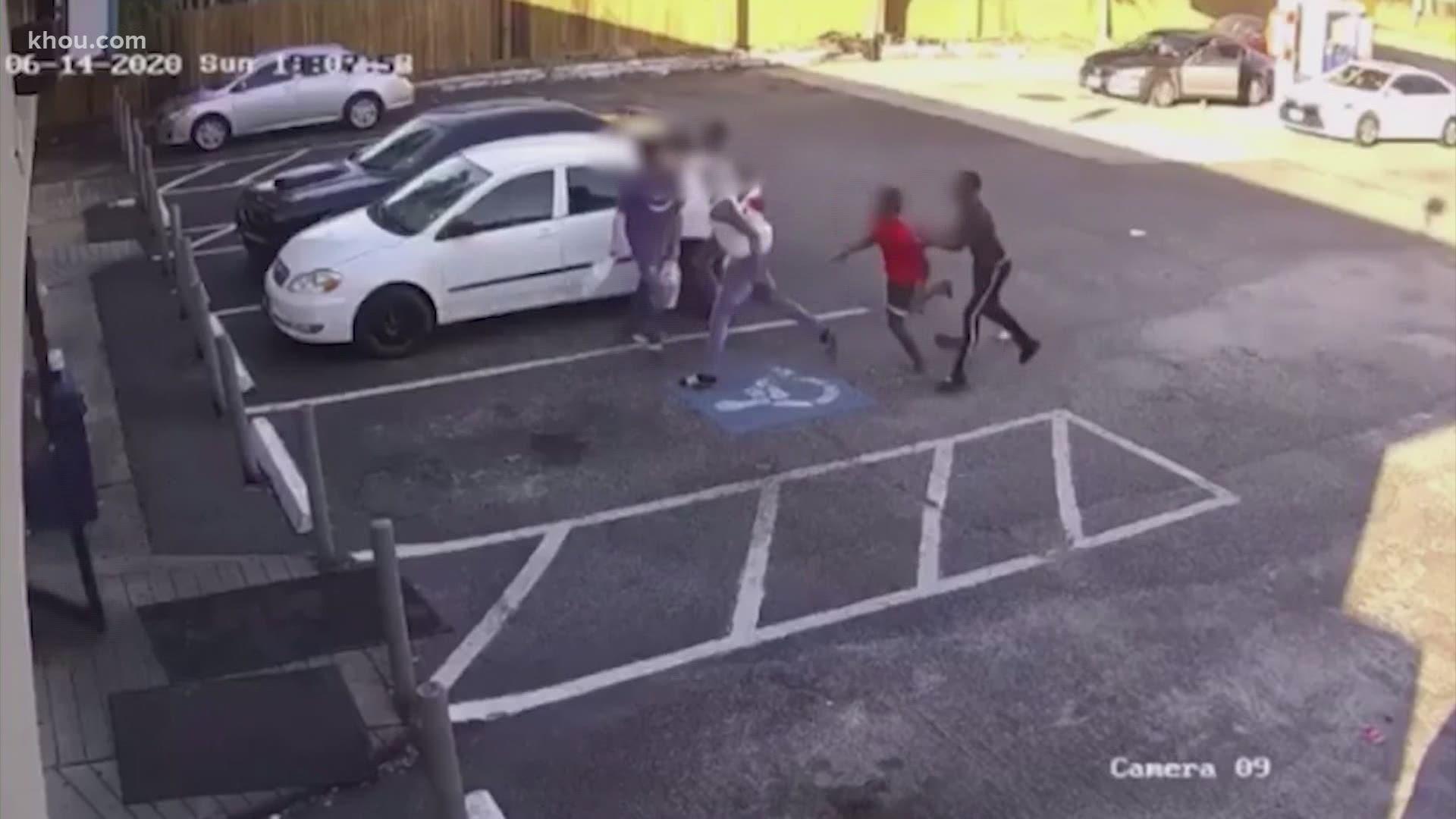 Parking Lot Crime