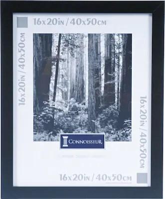 dax black wood poster frame plexiglas window 16 x 20