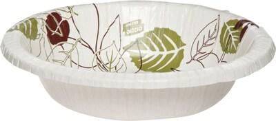dixie ultra pathways heavy weight paper bowls 20 oz 500 carton sx20path