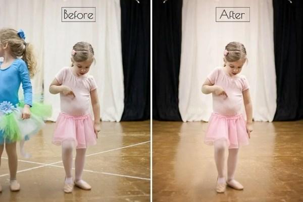 Ballerina Dreams & An Editing Trick